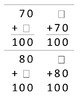 Missing Addend - Multiples of Ten - Flashcards