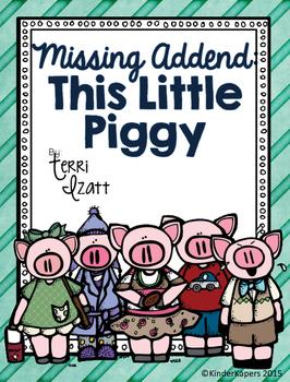 Missing Addend....Piggy