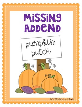 Missing Addend Pumpkin Patch