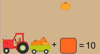 Missing Addend Pumpkins