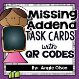 Missing Addend QR Code Task Cards