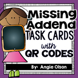 Missing Addend QR Code Task Cards