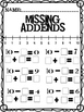 Missing Addend & Reverse Equations