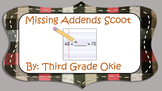 Missing Addend Scoot/Task Cards