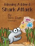 Missing Addend:  Shark Attack