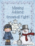 Missing Addend Snowball Fight