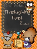 Missing Addend Thanksgiving Feast