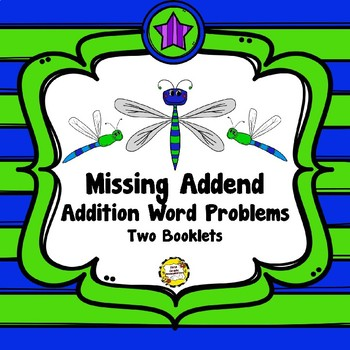 Missing Addend Word Problems Booklets