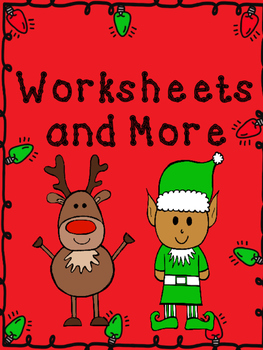 Christmas Missing Addend Worksheets
