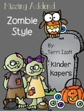 Missing Addend Zombie Style
