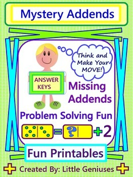 Missing Addend and Problem Solving Games
