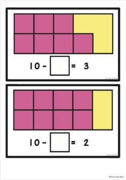 Missing Addend for Subtraction - Math Activity Pack