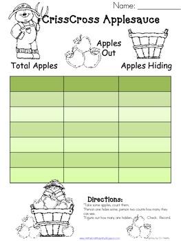 Missing Addend...Apples