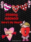 Missing Addend...Valentine Style