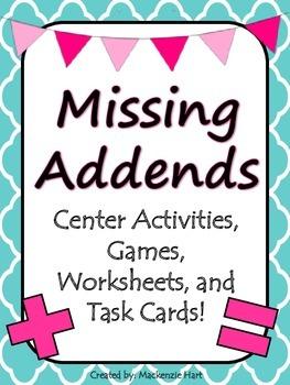 Missing Addends!