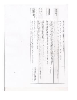 Missing Addends 1 Step Sentences & Word Problems Lesson Plan Assessment