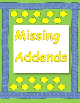 Missing Addends