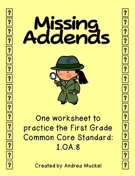 Missing Addends!