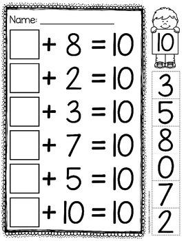 Missing Addends and Number Bonds | Number bonds, Number and Math