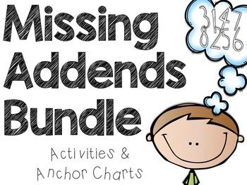 Missing Addends Activities Bundle