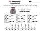 Missing Addends Addition and Subtraction  Game: Halloween Math Message Decoder