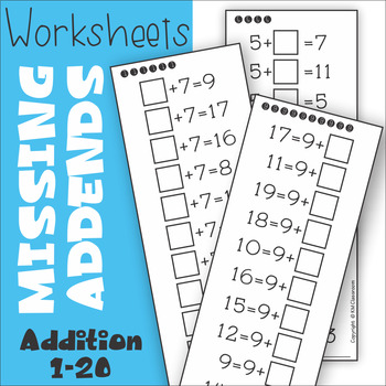Missing Parts Addition Teaching Resources | Teachers Pay Teachers