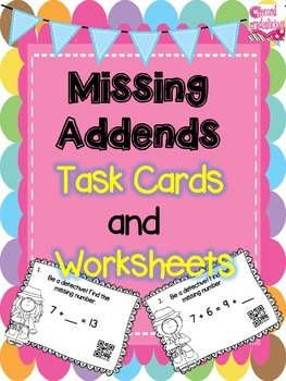 Missing Addends Be A Detective Activity for Equality of Equations