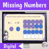 Missing Addends Digital Activities
