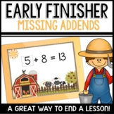 Missing Addends | Early Finisher