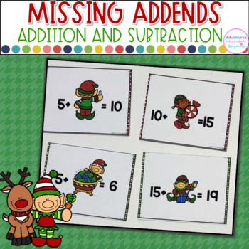 Missing Addends- Elftastic Elves!