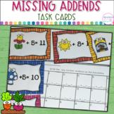 Missing Addends- Garden Suprises