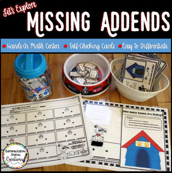 Missing Addends Hands On Math