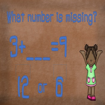 Missing Addends Interactive Game 1.OA.D.8