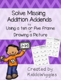 Missing Addends, Making 10 and 5