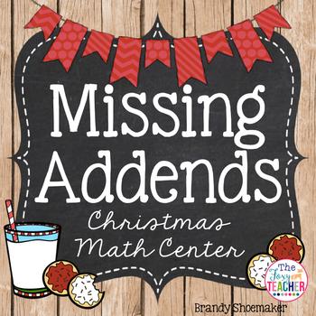 Missing Addends Math Center