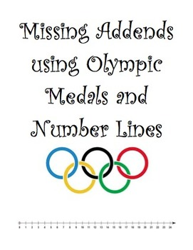 Missing Addends Olympic style