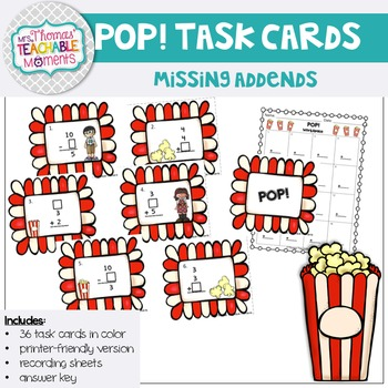 Missing Addends POP!