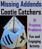 Finding the Missing Addend First Grade to Third Grade