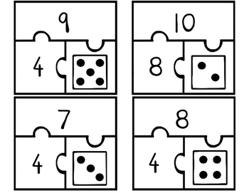 Missing Addends Puzzles