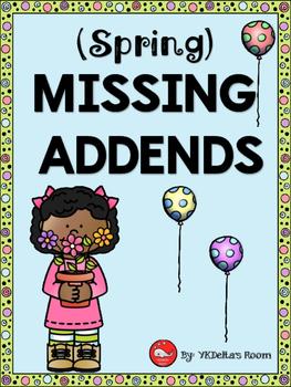 Missing Addends {Spring}