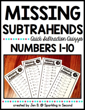 Missing Subtrahends