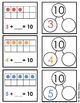 Missing Addends Tens Frames and Number Bonds FREEBIE!