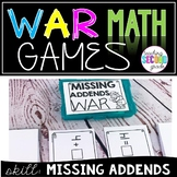Missing Addends War Game