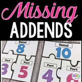 Missing Addends | Missing Number