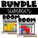 Missing Addends and Subtrahends Bundle Boom Cards™ Summer