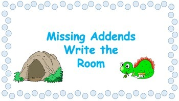 Missing Addends to 10