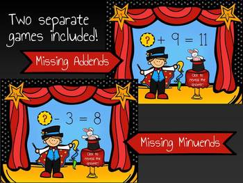 Missing Addends to 12 MOVE IT - Math Magic