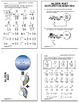 Missing Addends to 18 Addition Worksheets PLUS Full Color Game and Math Mat