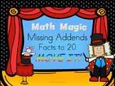 Missing Addends to 20 MOVE IT - Math Magic