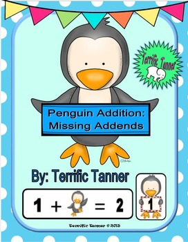 Missing Addends to 20 Penguin Game